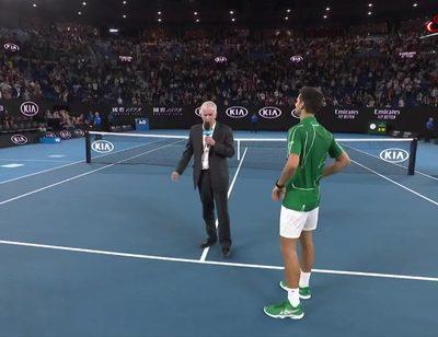 Siegerinterview Djokovic