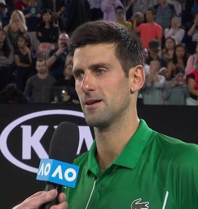 Djokovic im Interview