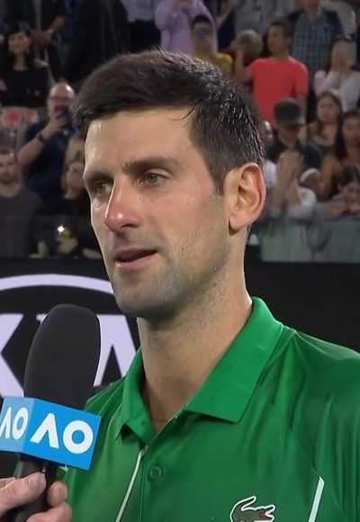 Djokovic im Interview