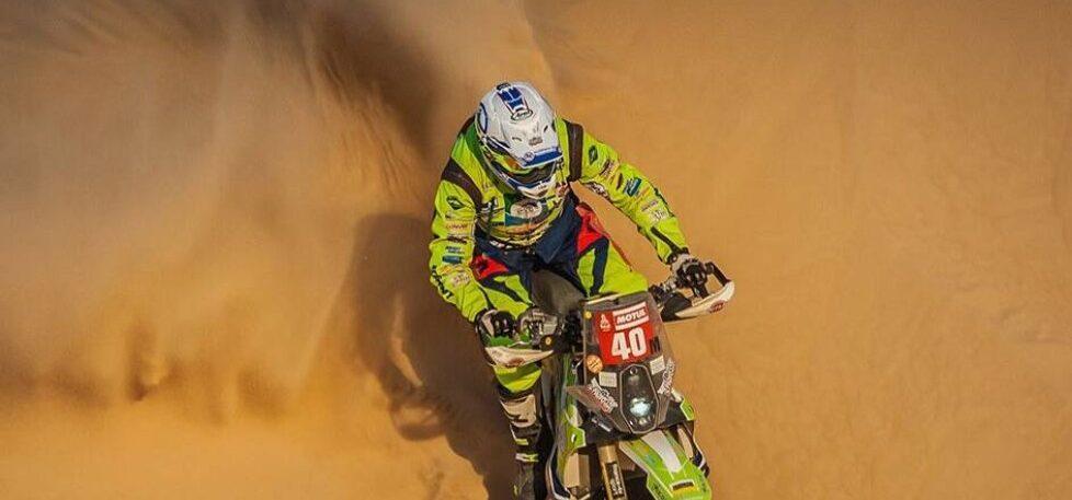 Rallye Dakar: Motorrad-Pilot nach Sturz in kritischem Zustand
