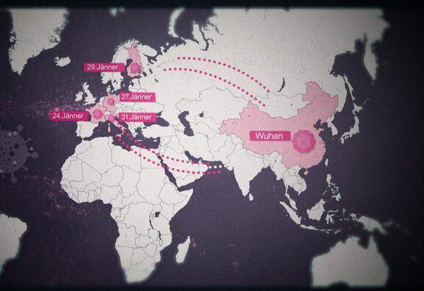 Chronologie der Pandemie