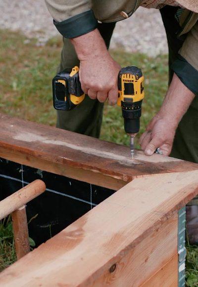 Schneckengehege bauen