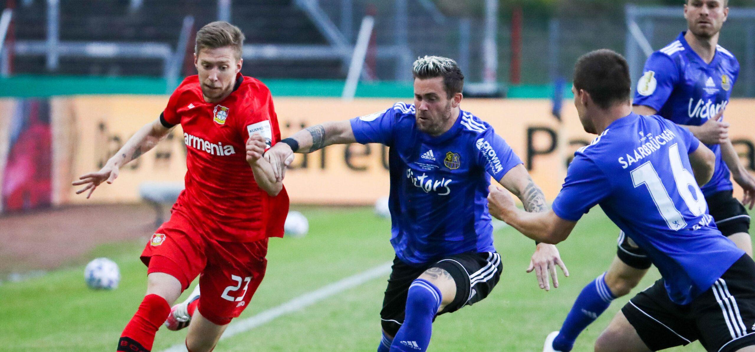 Aus im DFB-Pokal: Leverkusen machte Märchen zunichte