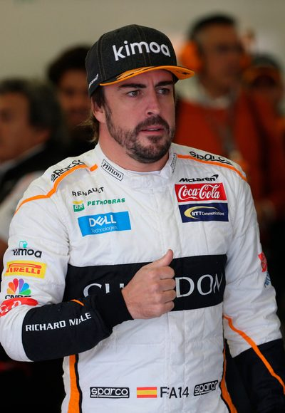 Alonso zurück in Formel 1