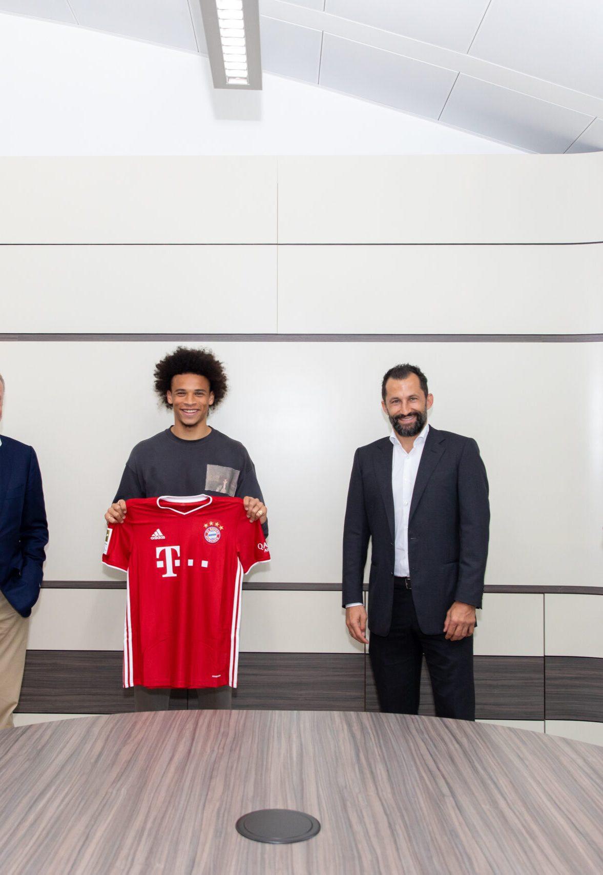 Fix: Sane zum FC Bayern