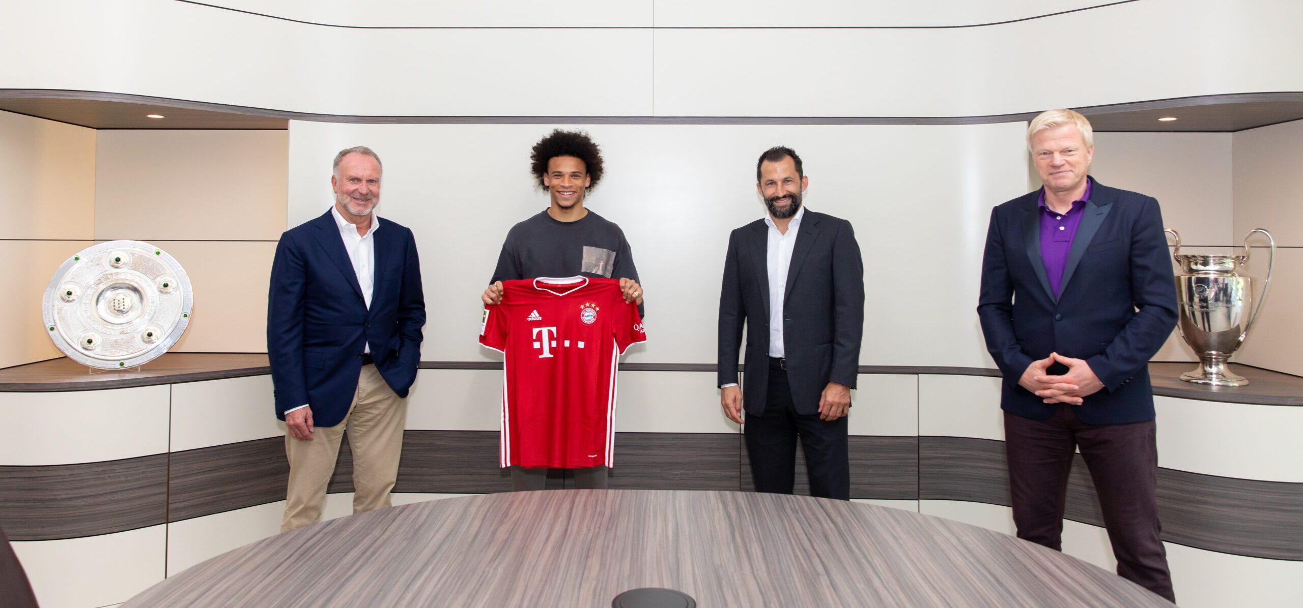 Fußball: Wechsel von Leroy Sane zum FC Bayern perfekt