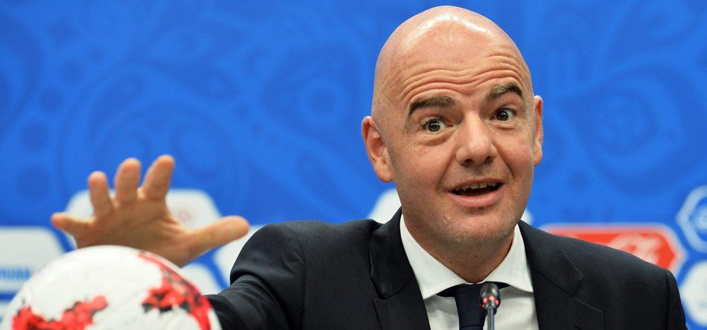 Fußball: FIFA-Funktionär wittert Komplott gegen Infantino
