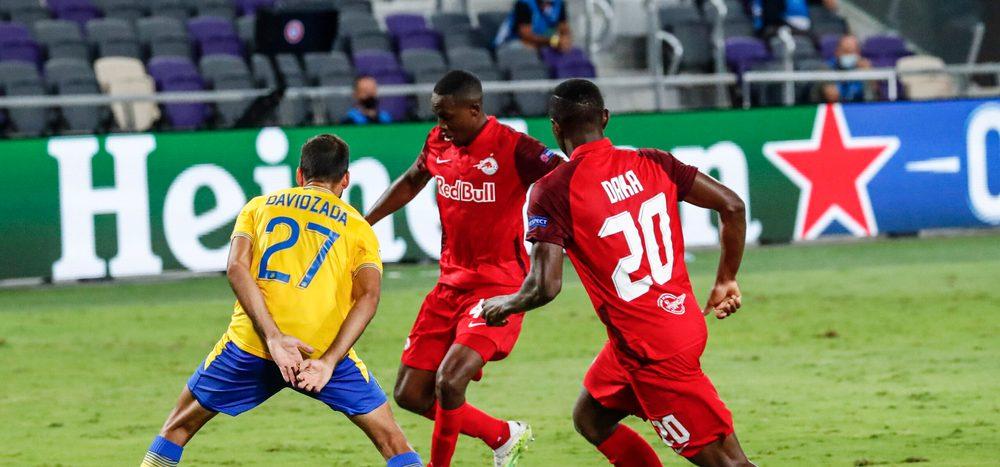 Fußball: Maccabi-Spieler nach Salzburg-Match Corona-positiv