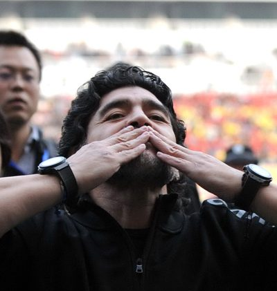 Letzter Weg für Maradona