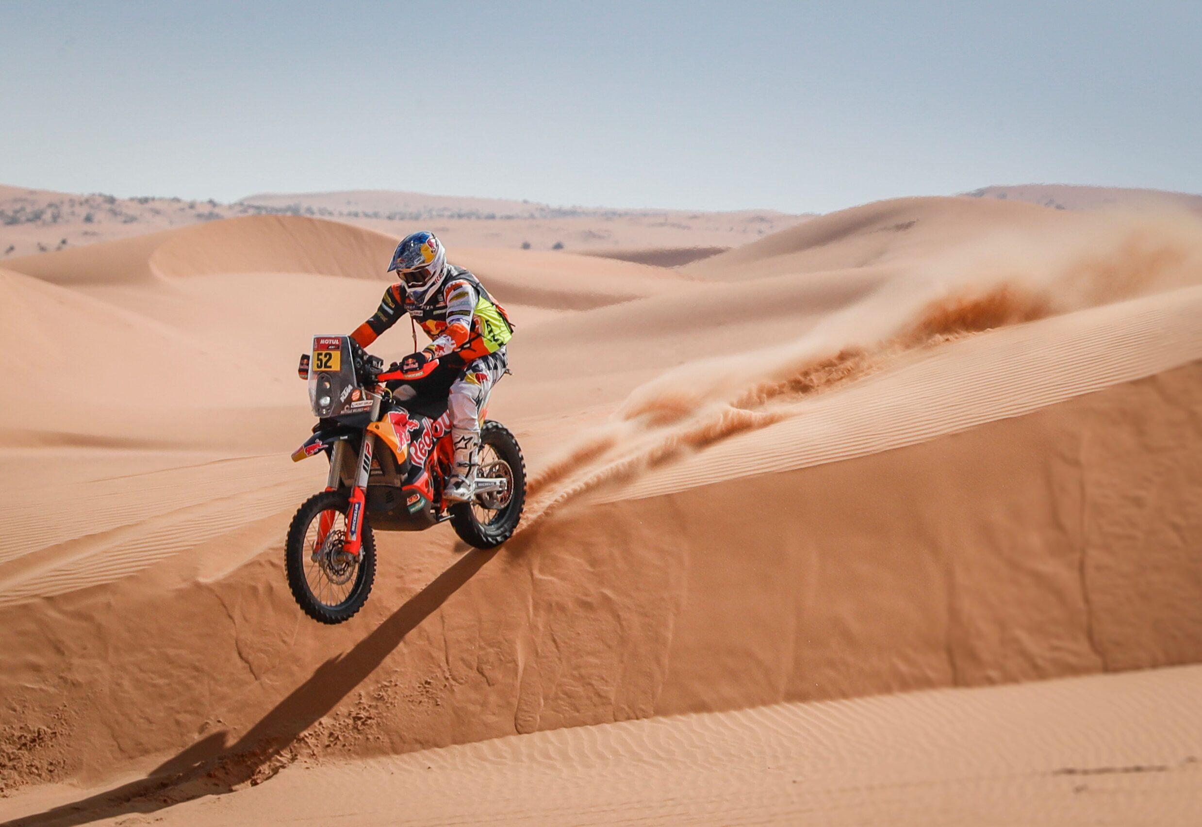 Dakar: Walkner vorne dabei