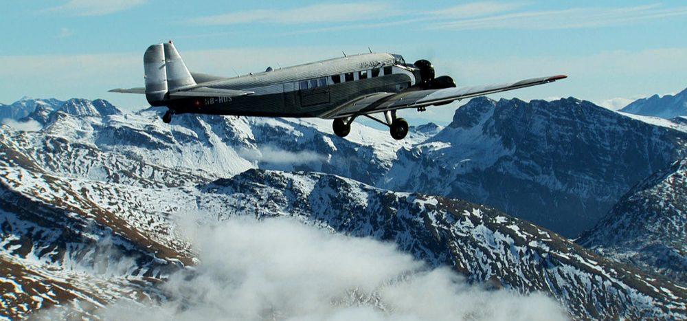 Historische Flugrouten