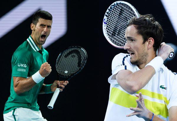 Djokovic vs. Medvedev LIVE