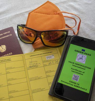 Grüner Pass in drei Etappen