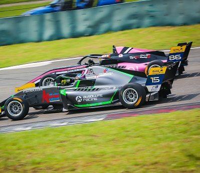 Motorsportaction in Asien
