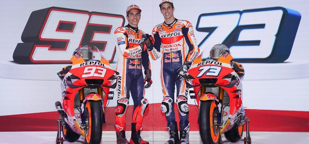 Honda lässt die Hüllen fallen: Marquez-Brüder präsentieren 2020er-Bike