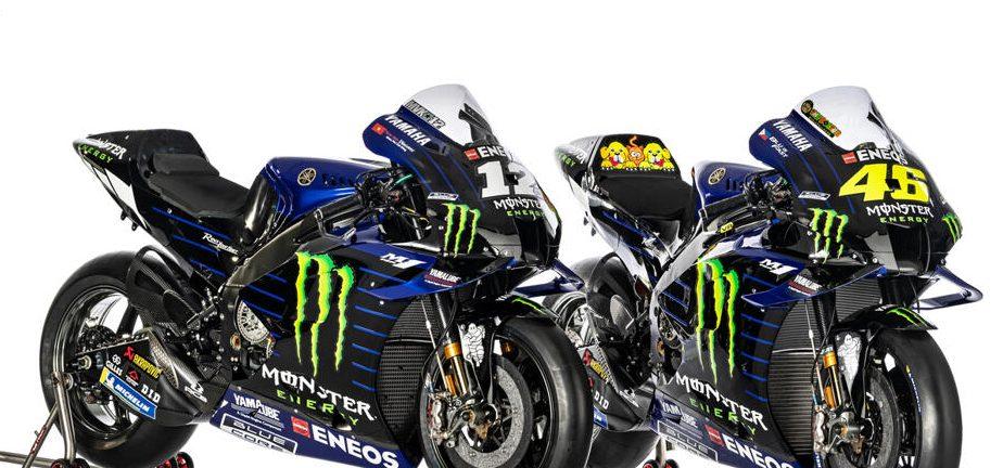 Präsentation mit Rossi und Vinales: Yamaha enthüllt die neue M1