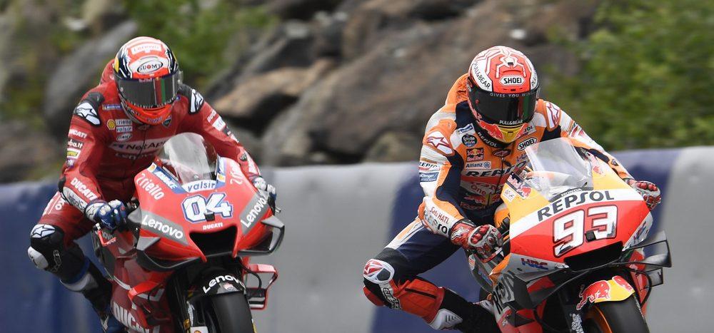 """Dovizioso: """"Würde Marquez gerne auf einem anderen Motorrad sehen"""""""