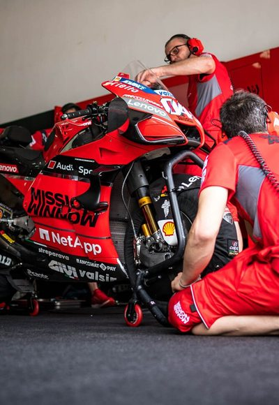 Ducati: Schwierige Logistik