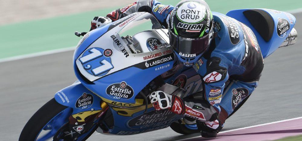 Moto3 in Katar: Sergio Garcia im FP1 Schnellster, Kofler 29.