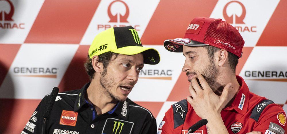 Kampf gegen Corona-Virus: Rossi & Dovizioso wollen aufrütteln