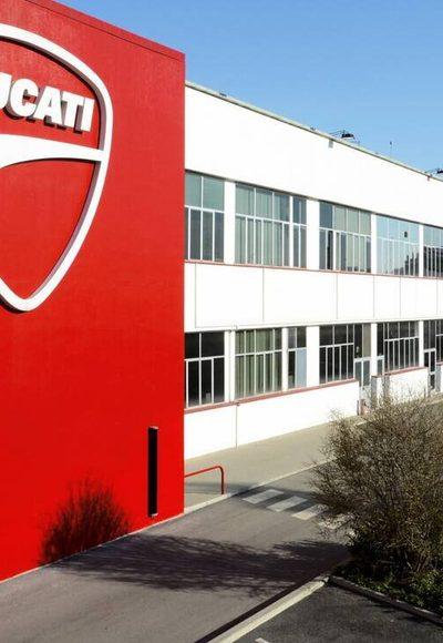 Ducati-Werk geschlossen