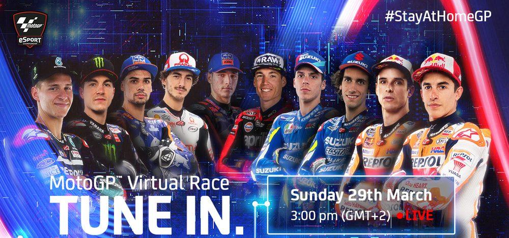 MotoGP goes eSports: Virtuelle Renn-Action auf ServusMotoGP.com
