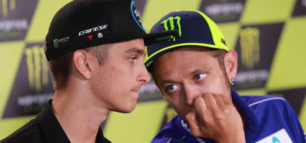 """Luca Marini über Valentino Rossi: """"Ich hoffe, dass er weitermacht"""""""