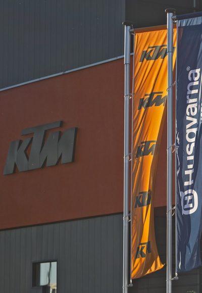 KTM produziert wieder