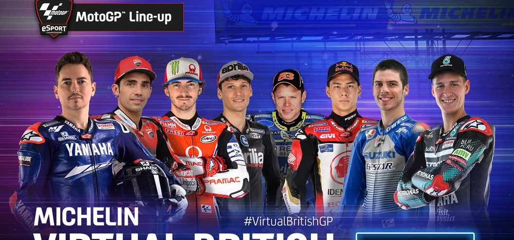 MotoGP Virtual Race Silverstone: eSports-Rennen auf ServusMotoGP.com