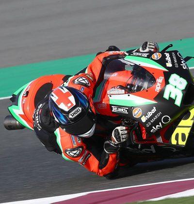 Aprilia plant MotoGP-Test