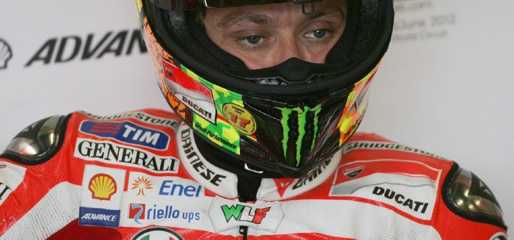 Rossi: Als er schon mal ans Aufhören dachte