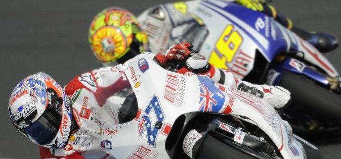 Aus dem Yamaha-Werksteam gedrängt: Stoner bedauert Rossi