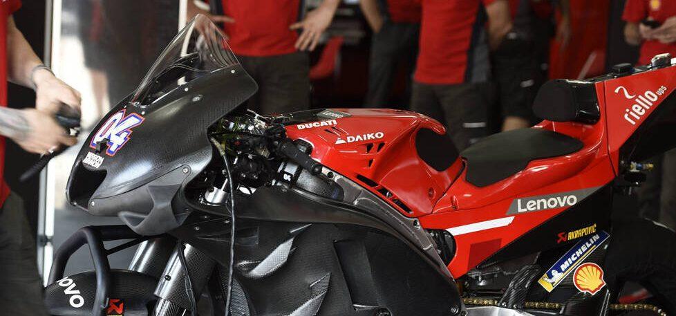 Entwicklungs-Stopp in der MotoGP 2021: Ducati sieht sich im Nachteil