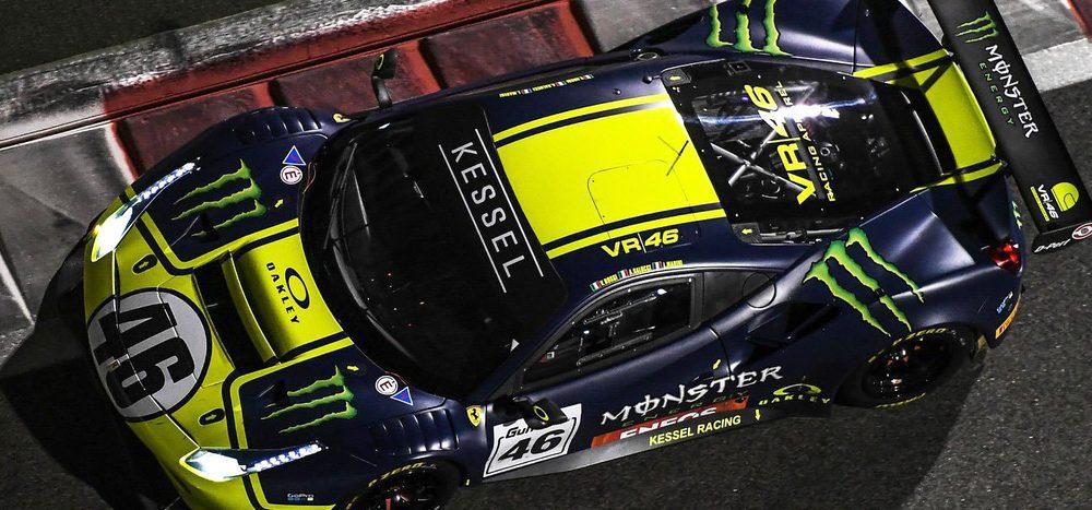 Action auf vier Rädern: Valentino Rossi fährt GT3-Ferrari in Misano