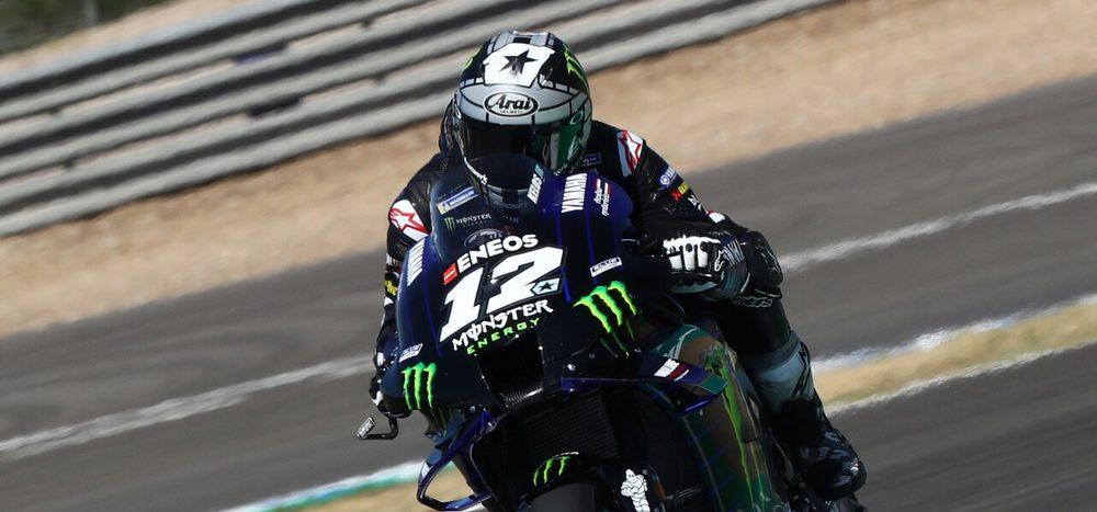 Jerez-Test: Vinales vor Quartararo, Rossi mit Rückstand