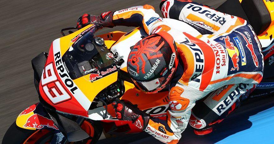 FP1 MotoGP Jerez: Marquez Schnellster – Rossi nicht in Top 10
