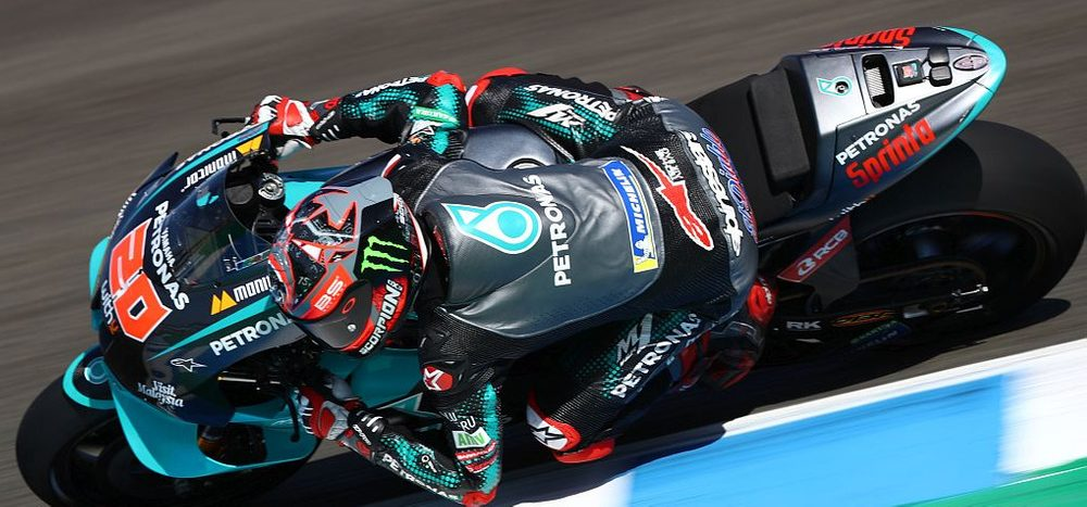 Qualifying MotoGP Jerez: Quartararo auf Pole, viele Stürze im Q2