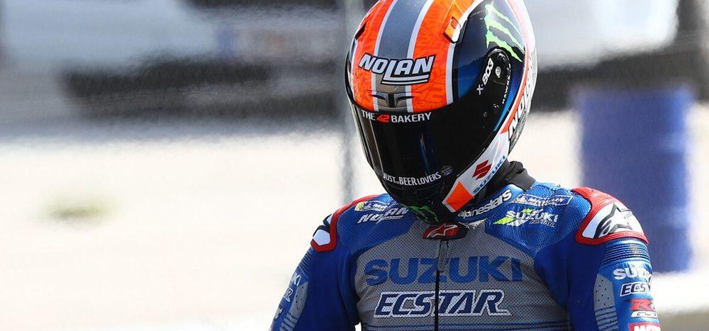 Sturz-Drama im Qualifying: Start von Alex Rins in Jerez fraglich