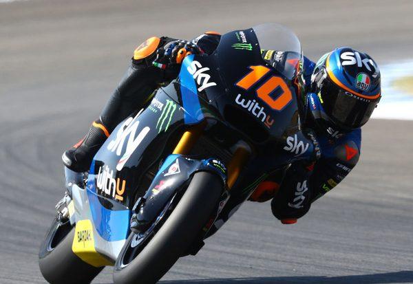 Sieg für Luca Marini
