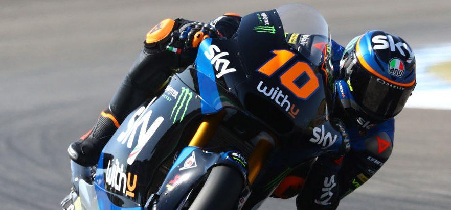 Rennen Moto2 Jerez: Marini gewinnt, Schrötter mit Highspeed-Crash