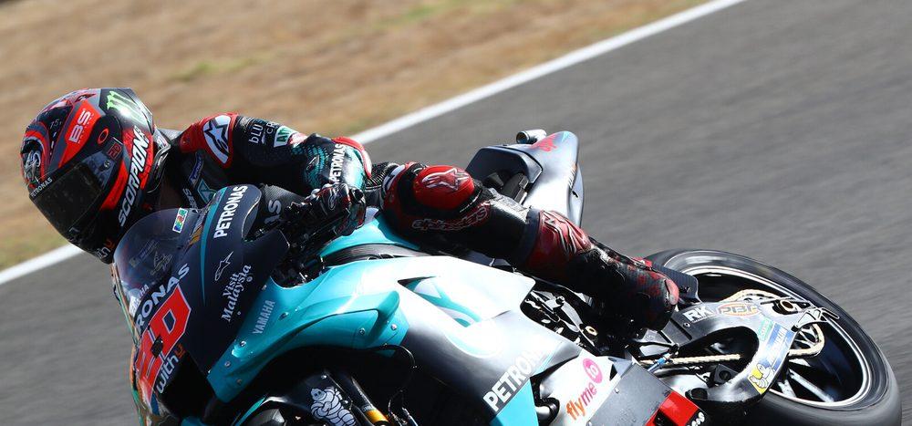 Rennen MotoGP Jerez: Quartararo holt Premieren-Sieg, Drama um Marquez