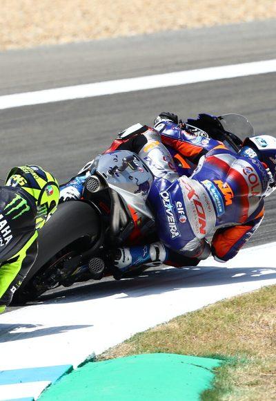 Ausfall: Rossi mit Problem