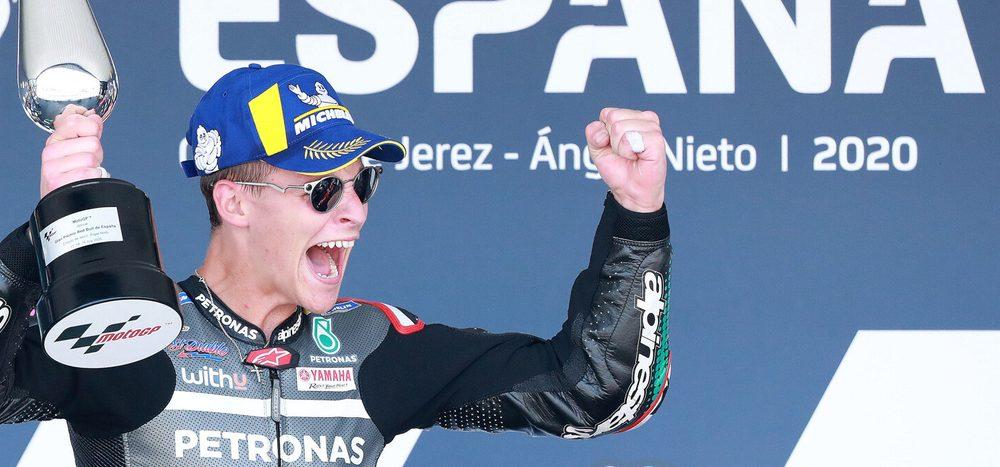 """Fabio Quartararo nach seinem ersten MotoGP-Sieg: """"Noch nicht realisiert"""""""
