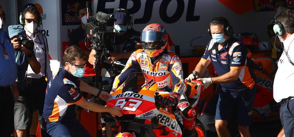FP3 MotoGP Jerez 2: Marquez muss bei Comeback in Q1, Vinales mit Rekord