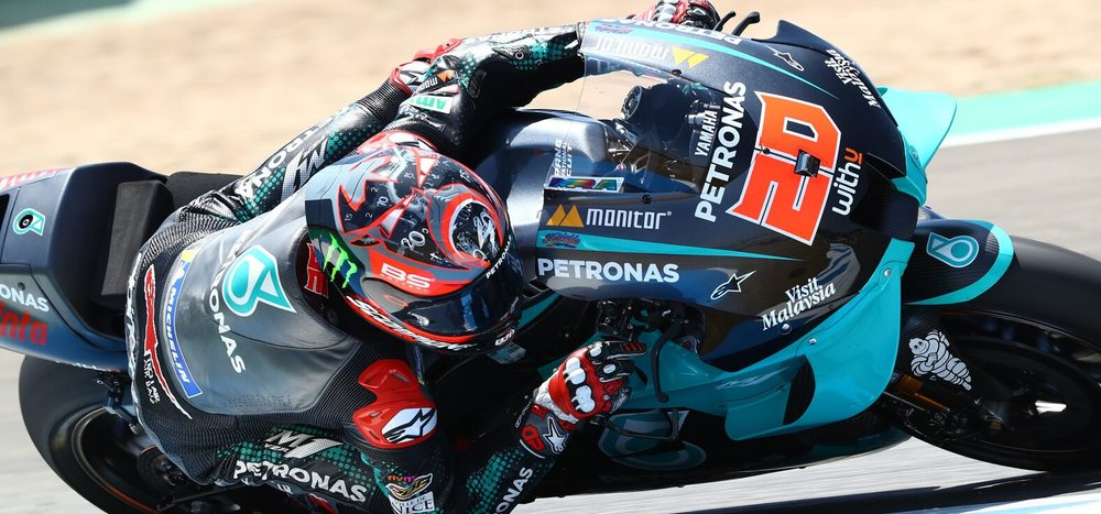 Qualifying MotoGP Jerez 2: Fabio Quartararo auf Pole – Marquez out