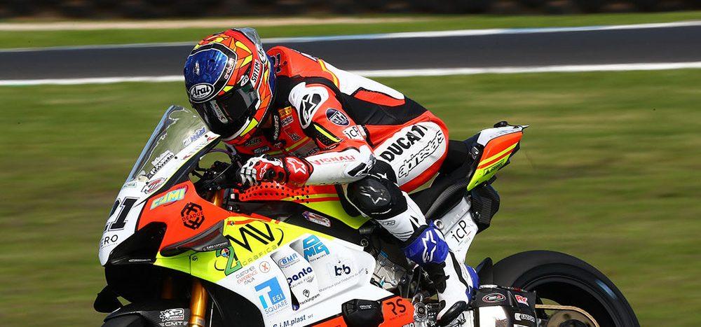 FP2 WSBK Jerez: Rinaldi überrascht mit Bestzeit