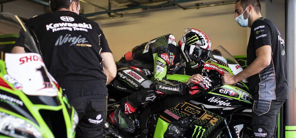 Kawasaki in Jerez: Setzt Alex Lowes Jonathan Rea erneut unter Druck?
