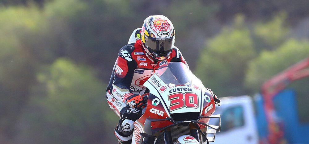 FP1 MotoGP Brünn: Nakagami vorne, fünf Hersteller in den Top 5