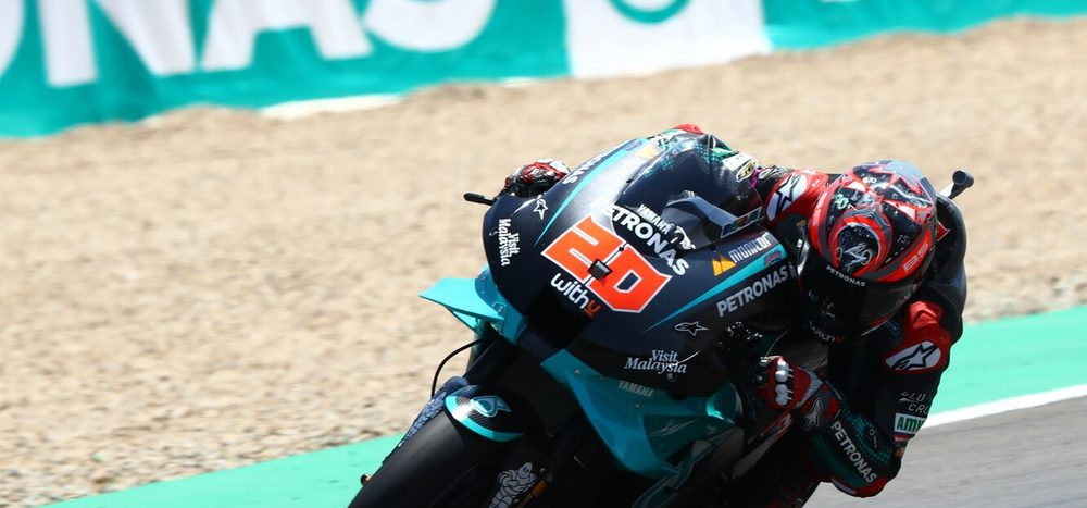 FP2 MotoGP Brünn: Quartararo knapp vorn, Rossi nicht in den Top 10