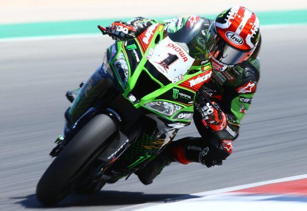 Kawasaki auf Pole-Position